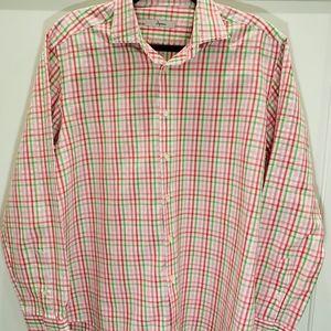 Boys collared shirt, large, like new